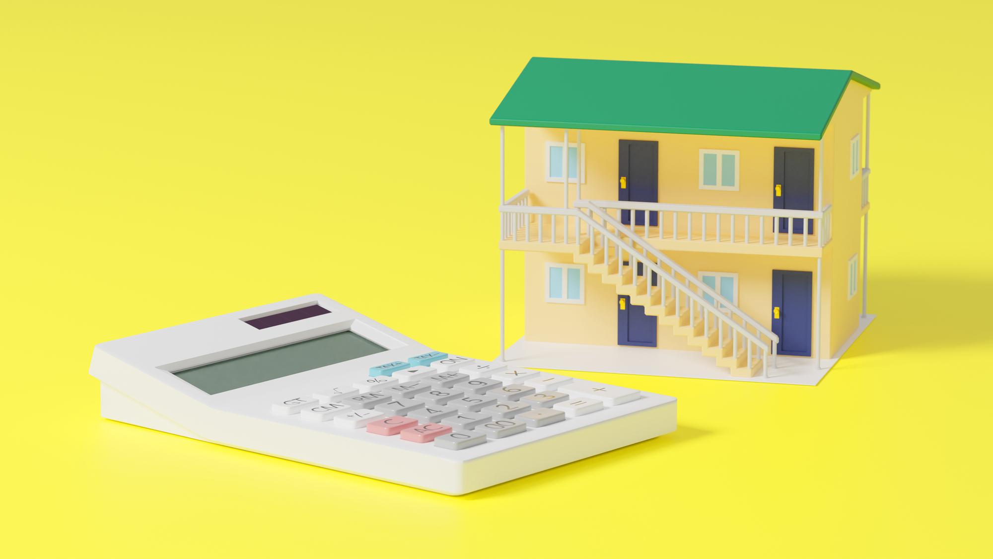 アパートなどを活用する不動産投資のイメージ