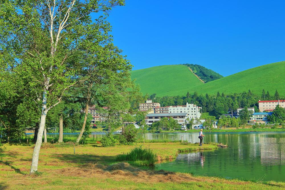 高原にあるリゾートマンションのイメージ