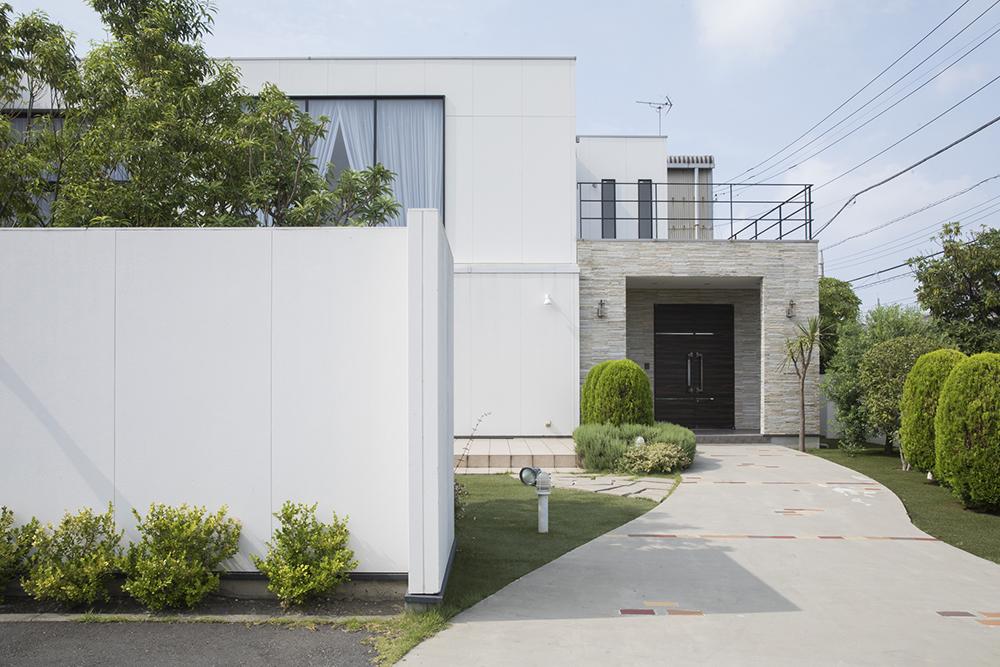 鉄筋コンクリート造の住宅のイメージ
