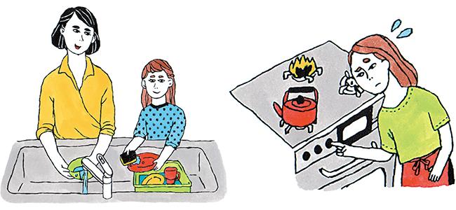 調理や掃除など作業の多いキッチンは、便利な機能や家事ラク機能がついた設備が豊富。料理のしやすさはもちろん、汚れの気になるシンクやコンロは掃除のしやすさも選ぶときのポイントに
