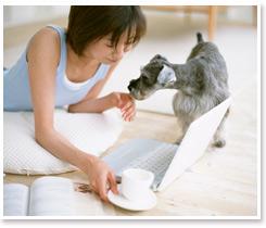 「ペット」と暮らす家(イメージ)