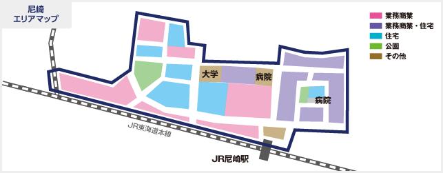 尼崎エリアマップ