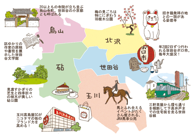 寺町もグルメも乗馬も美術鑑賞も。5つの地域が織りなす多彩な街の顔