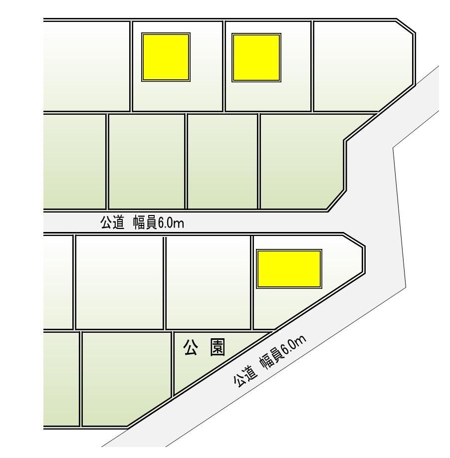鹿又字新土手前(鹿又駅) 2380万円~2580万円