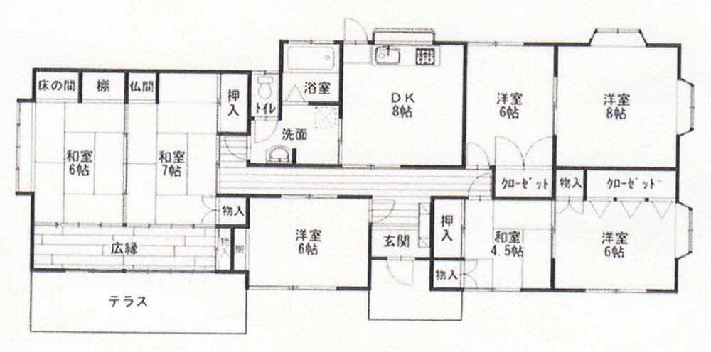 七井土(八積駅) 1050万円