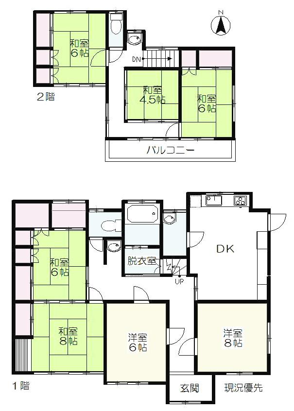 下新田町(新前橋駅) 1680万円