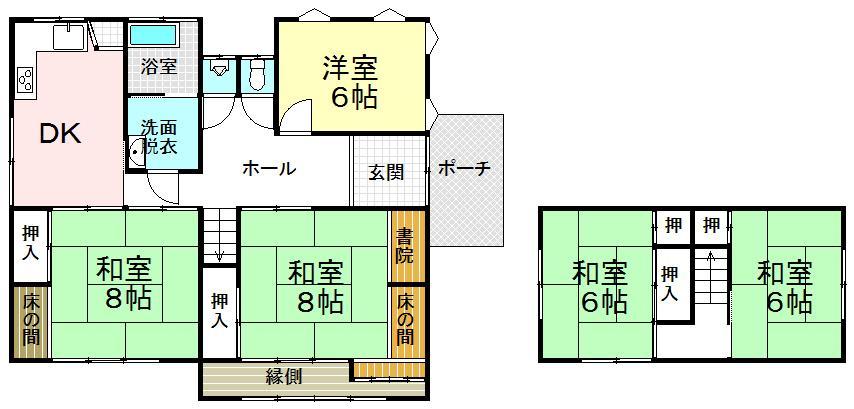 北田町(松江駅) 2100万円