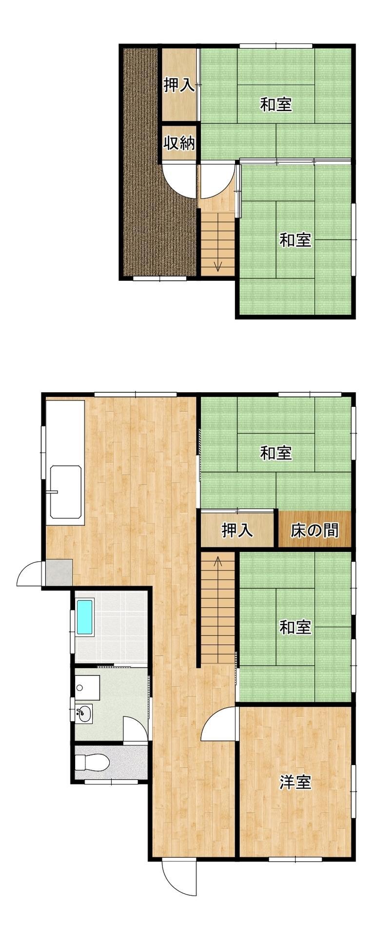 葛原2(安部山公園駅) 490万円