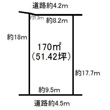 大字棚木(長者ヶ浜潮騒はまなす公園前駅) 100万円