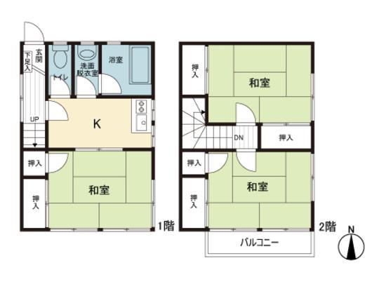 若宮町1(中央前橋駅) 745万円