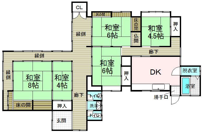 山代町(松江駅) 1500万円