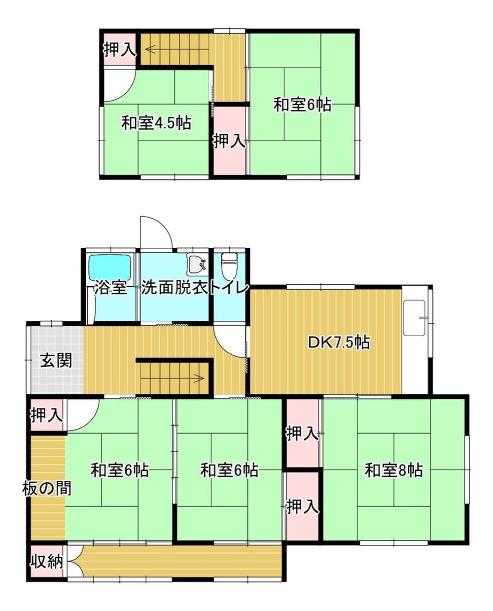 小田ヶ浦2(筑豊中間駅) 900万円