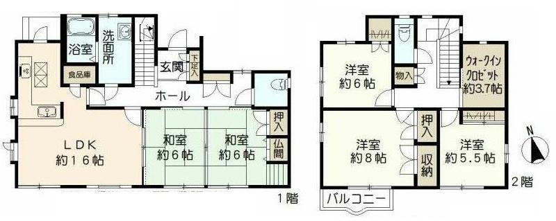 勝山1(スペースワールド駅) 1380万円