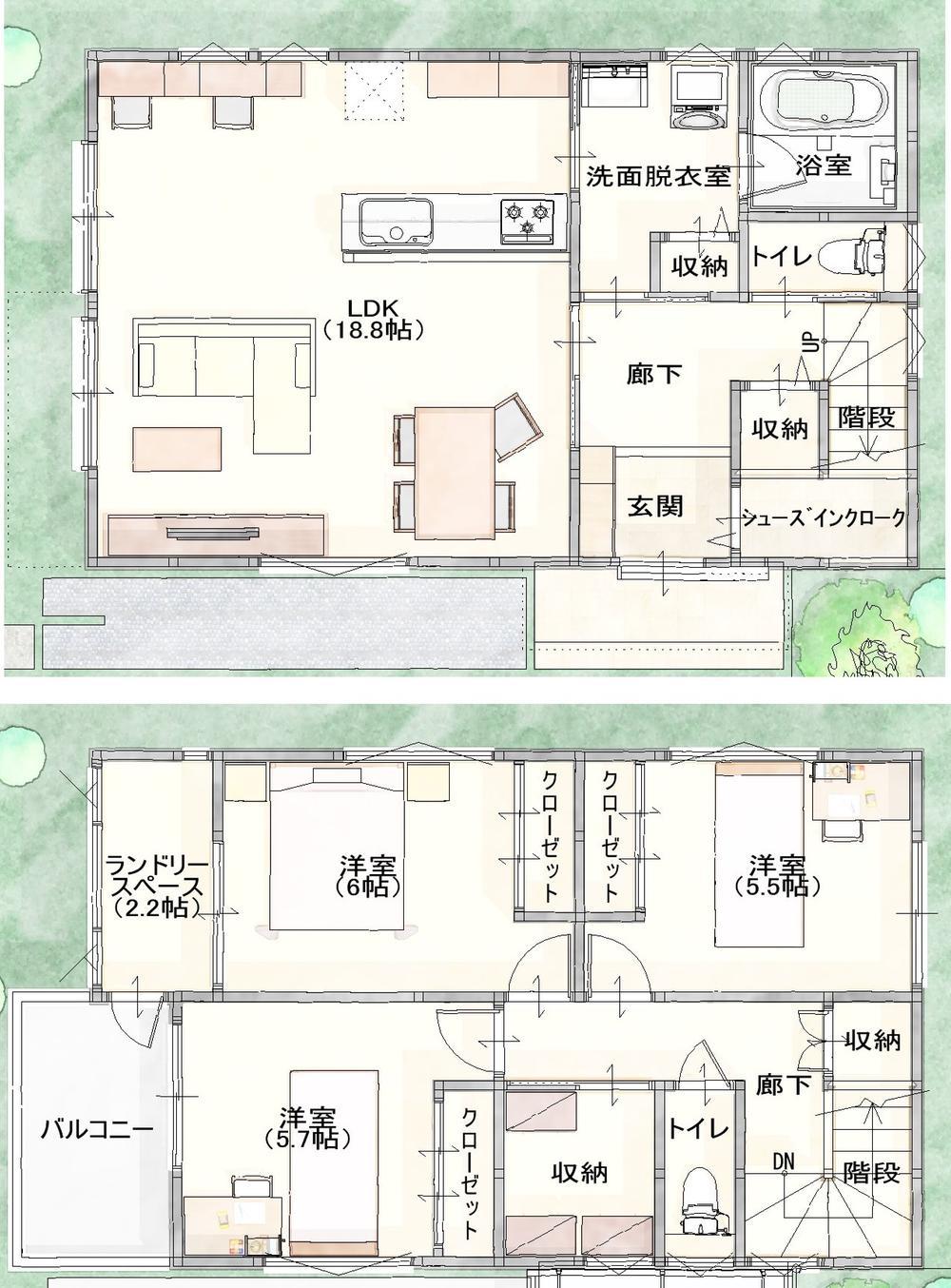 【売主物件】◆パナソニック耐震住宅限定モデルハウス建築中!◆年度内入居可能!