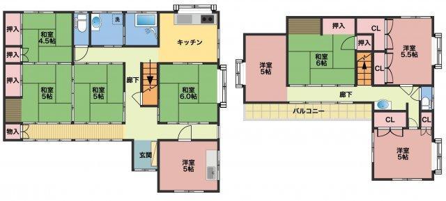 月谷町(足利駅) 1199万円