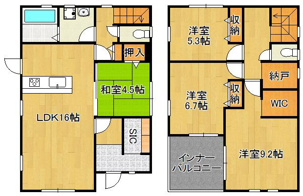 頃末北3(水巻駅) 2198万円