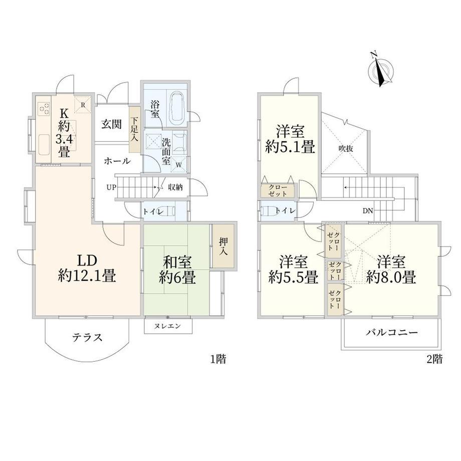 南初富1(新鎌ヶ谷駅) 1980万円