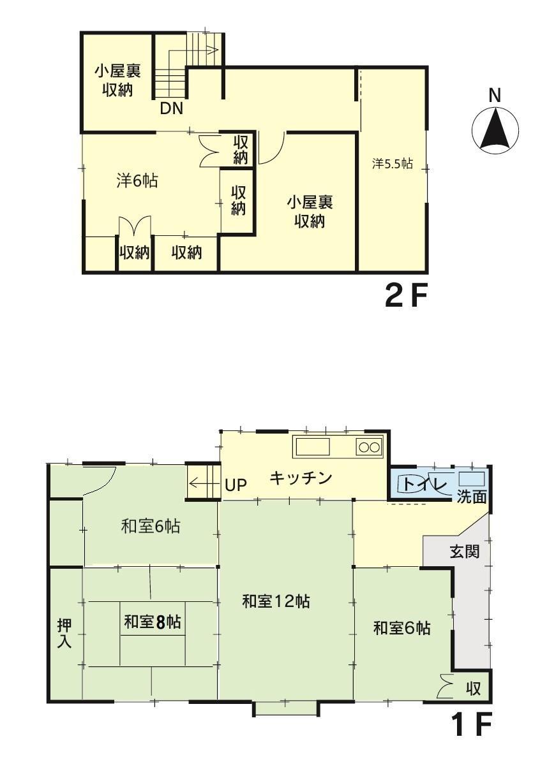 横山(入善駅) 128万円