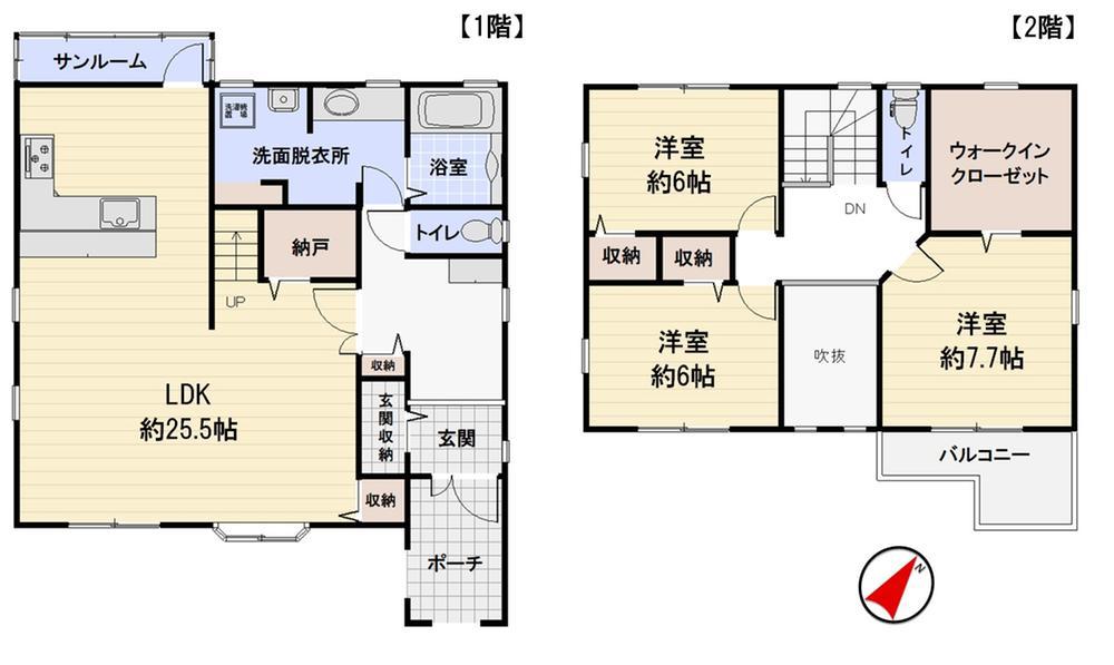 矢田野町(粟津駅) 1680万円