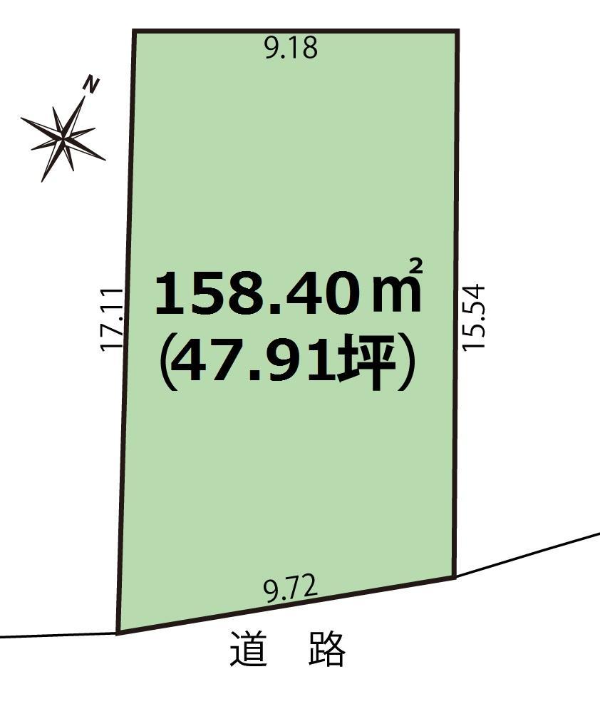 袋津4(亀田駅) 800万円