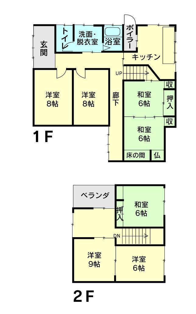 八尾町梅苑町2(越中八尾駅) 398万円