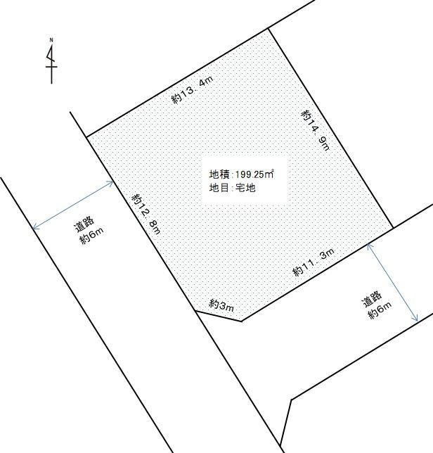 三條岡2(亀田駅) 1350万円
