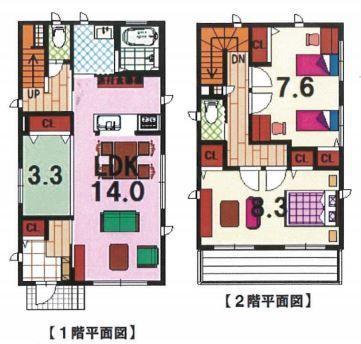 新道町2(北新川駅) 3480万円