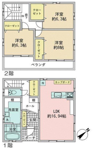 柏井町5(勝川駅) 4950万円