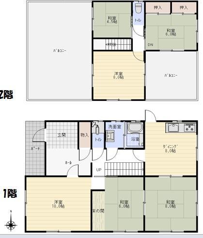 緑苑中2(鵜沼駅) 1380万円