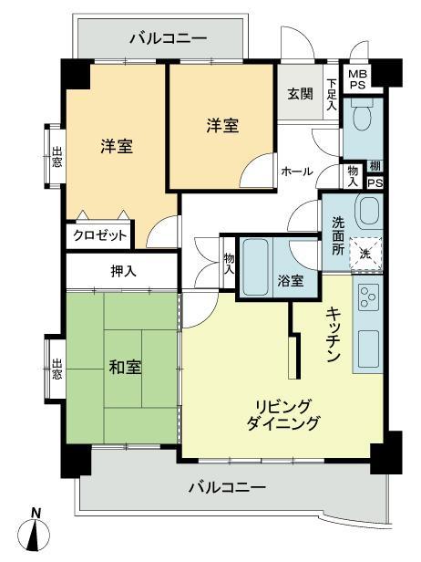 ライオンズマンション成願寺第2○リフォーム済、オートロック、角部屋○