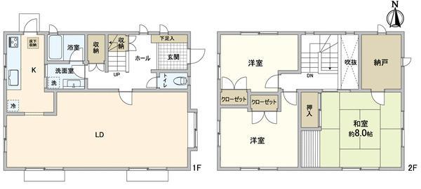 桐ケ丘(滝谷駅) 3500万円
