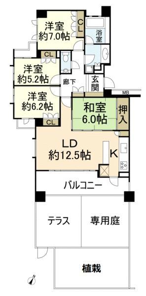 ガーデンハウス千里古江台