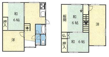 松島(六十谷駅) 390万円