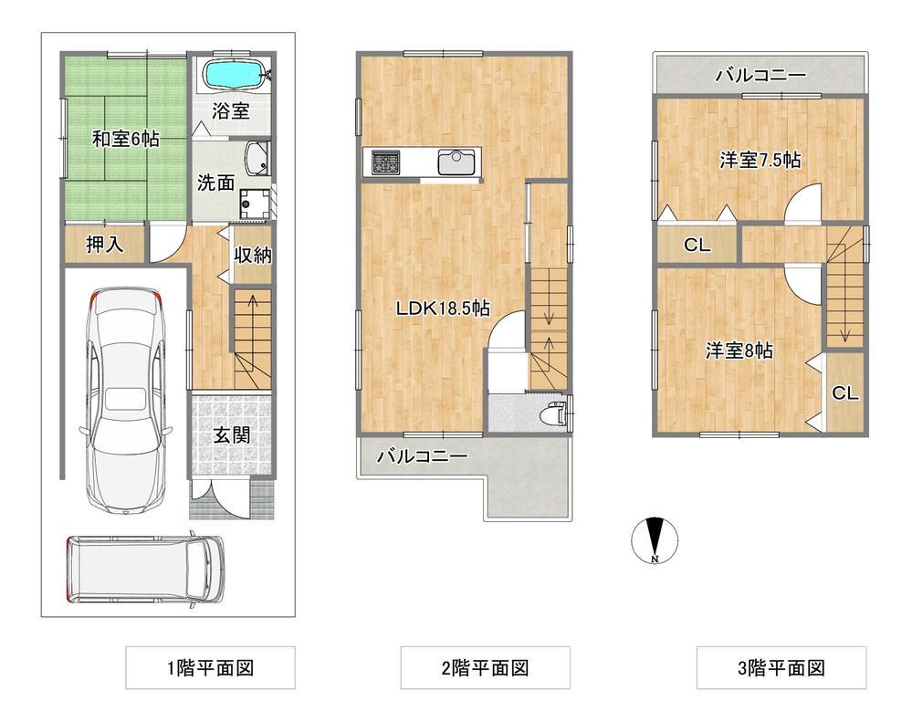 船橋町(土師ノ里駅) 1580万円