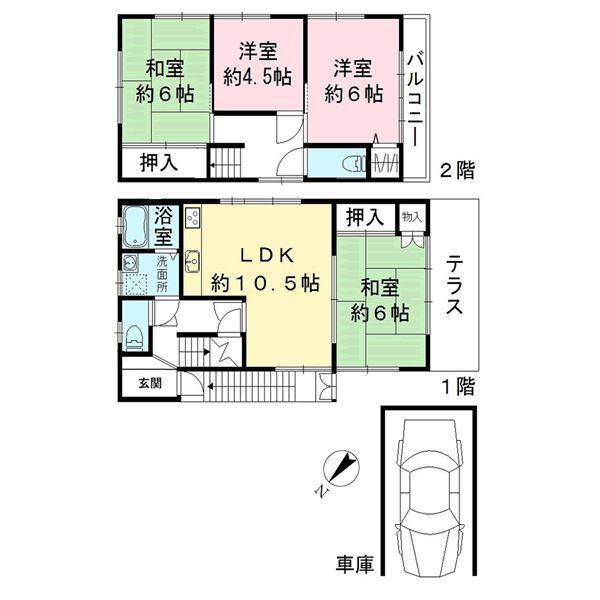 千里山竹園1(千里山駅) 2880万円
