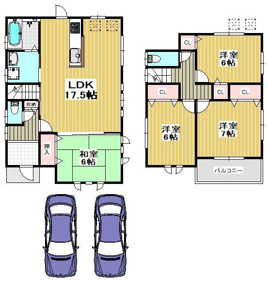 庭代台1(栂・美木多駅) 3003万2000円~3103万円