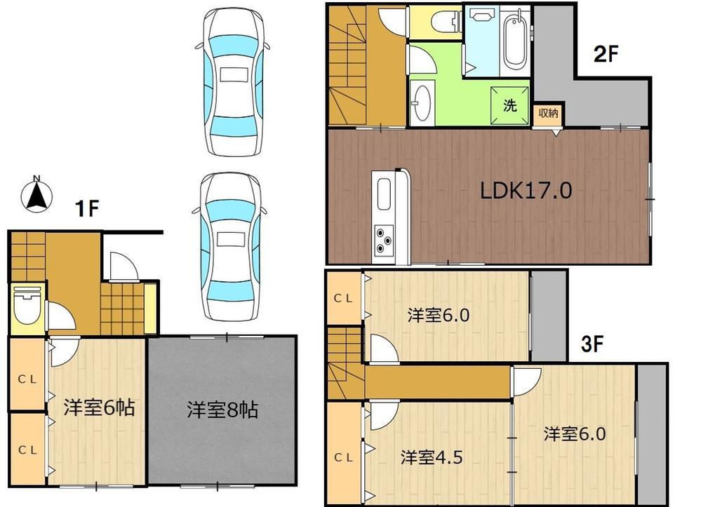 友渕町3(城北公園通駅) 4580万円