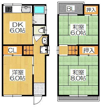 南野口町(大和田駅) 550万円