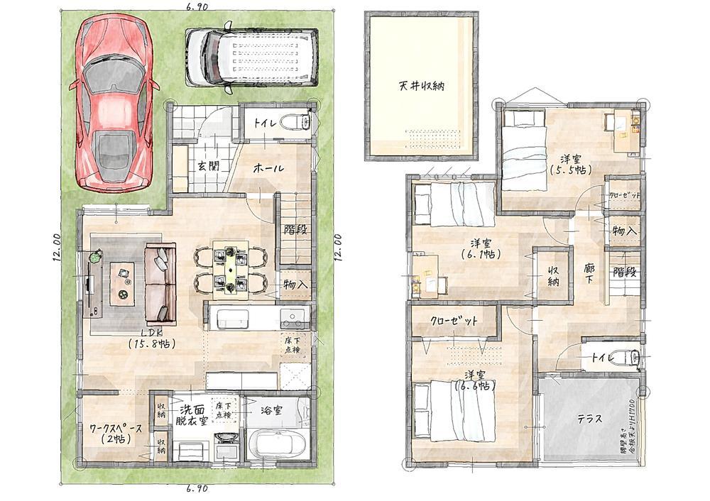 【四辻の分譲地】9号地10号地11号地建築開始!鴨川グリーンタウン