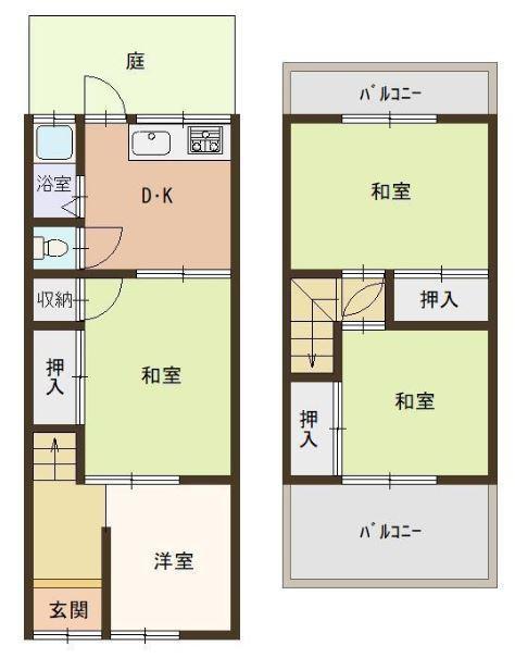 桜町(瓢箪山駅) 550万円
