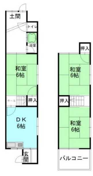 福万寺町南3(河内山本駅) 680万円