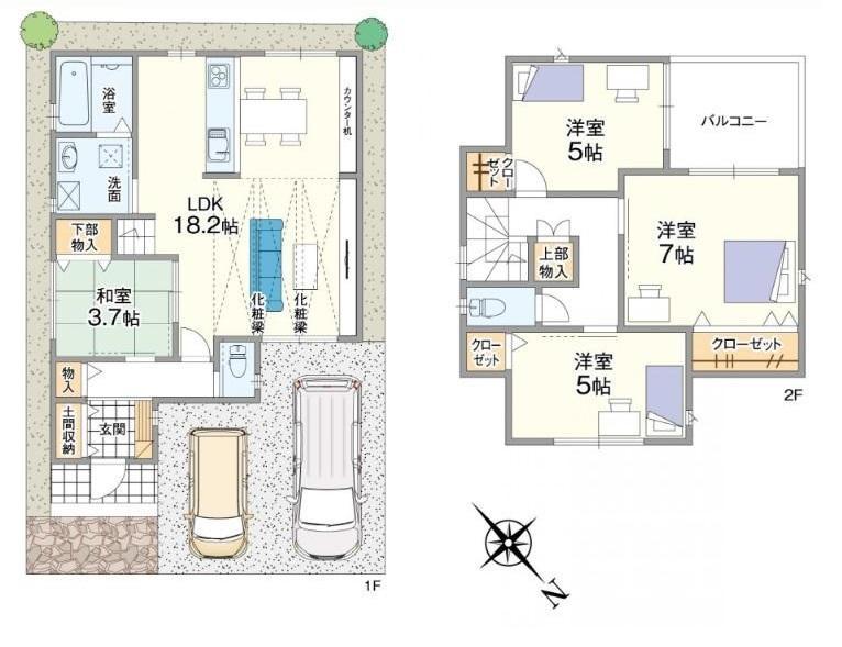高師浜3(高石駅) 4080万円