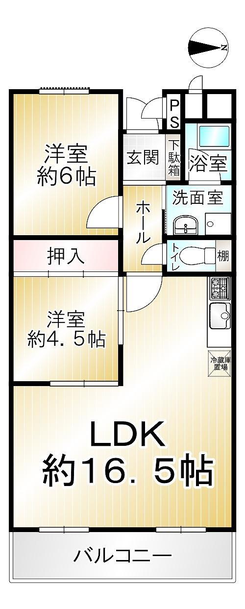 東生駒北ガーデンハイツ28号棟