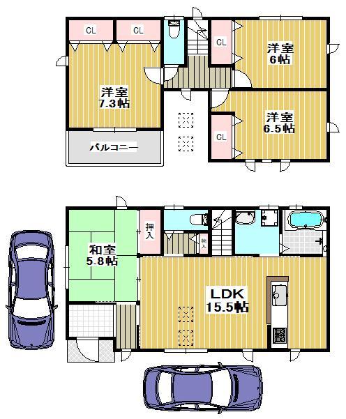土塔町(深井駅) 2503万円~2903万円