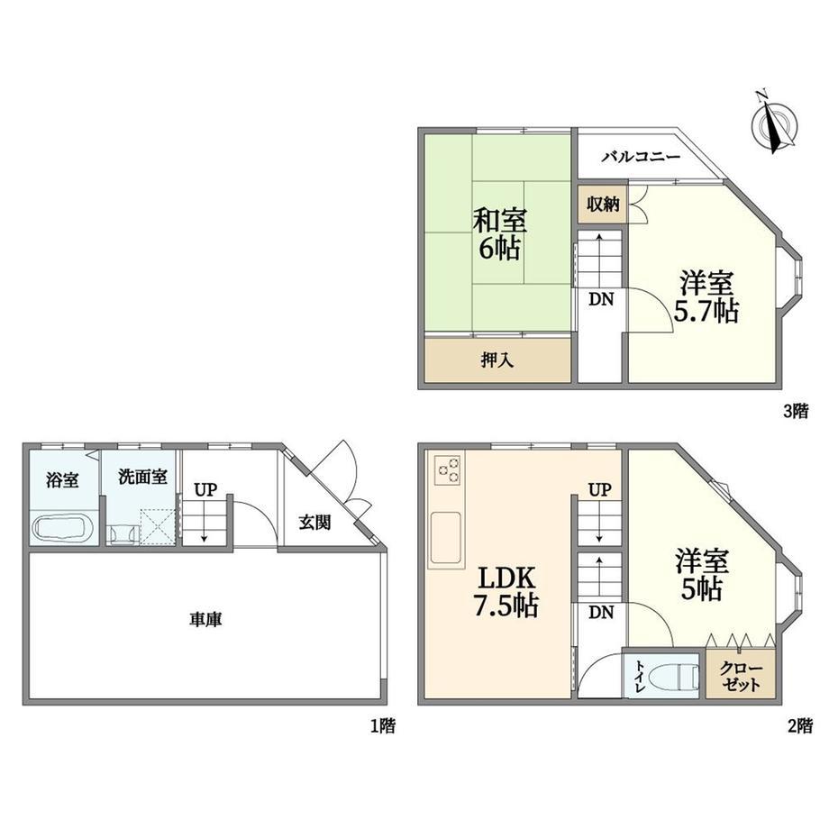 阪南町2(昭和町駅) 2380万円