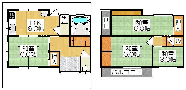 沖町(大和田駅) 730万円