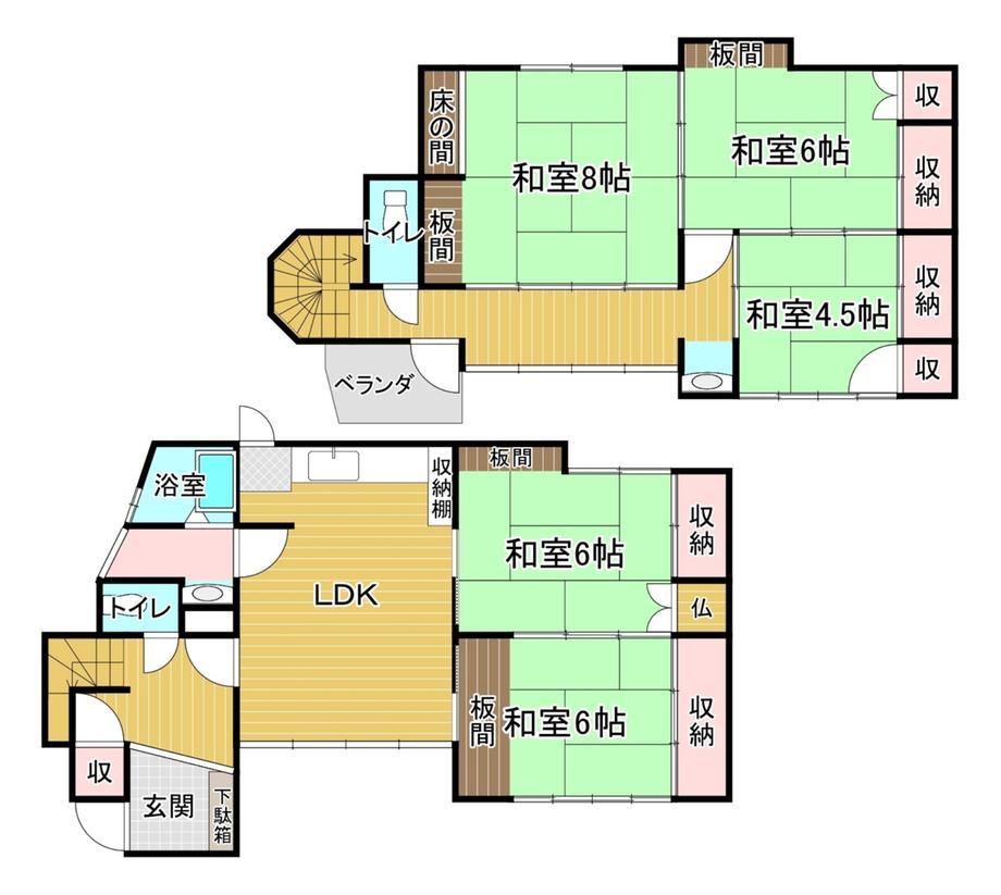 大字浜崎町(東萩駅) 480万円