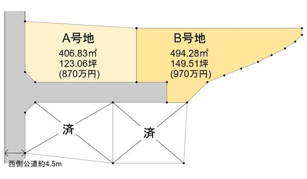 大字北俣 870万円