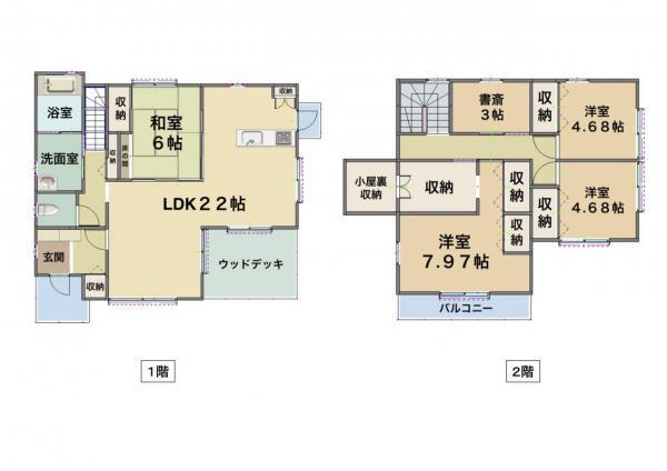 国分下井(国分駅) 2080万円