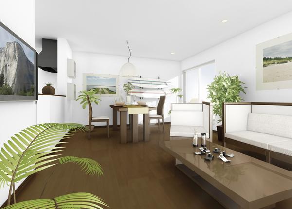廊下やホールのスペースを極力少なくし、階段下も活用するなど、無駄のないプランニングが実現。2階は使い方に応じて、収納、客室、畳コーナー、趣味室、吹抜けの6スタイルから選べる
